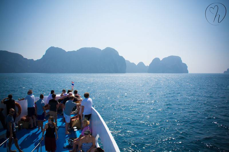 Koh Phi Phi and ferry