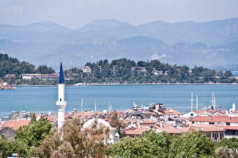 fethiye view with sea